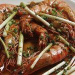 Fried tamarind shrimp