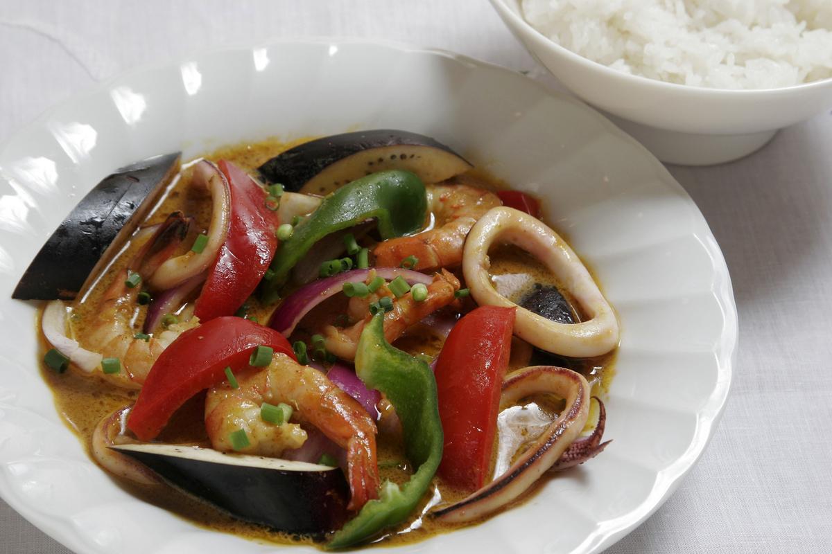 海鮮カレーライス