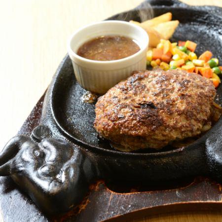 手舌漢堡牛排(230克)