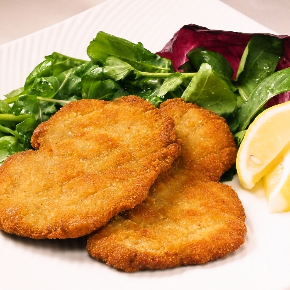 Calf's cutlet Milan style