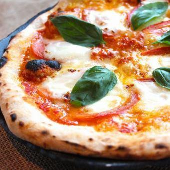 【荷兰那不勒斯风味披萨】番茄和玛格丽塔玛格丽塔