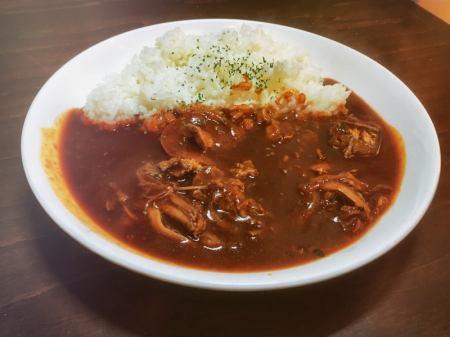 Mahoro heart beef hayashi rice
