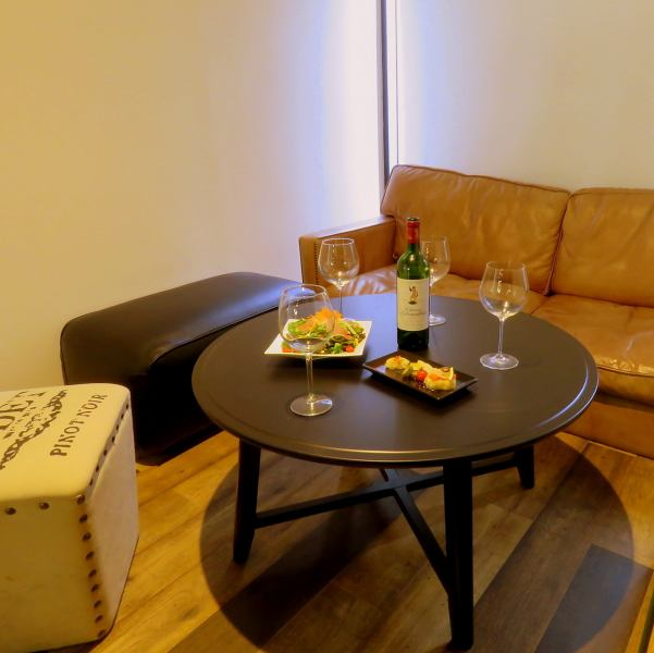 Relaxing sofa seat.The sofa seats are perfect for the girls' party and the mama-kai with children. ♪ As soon as possible for reservation!