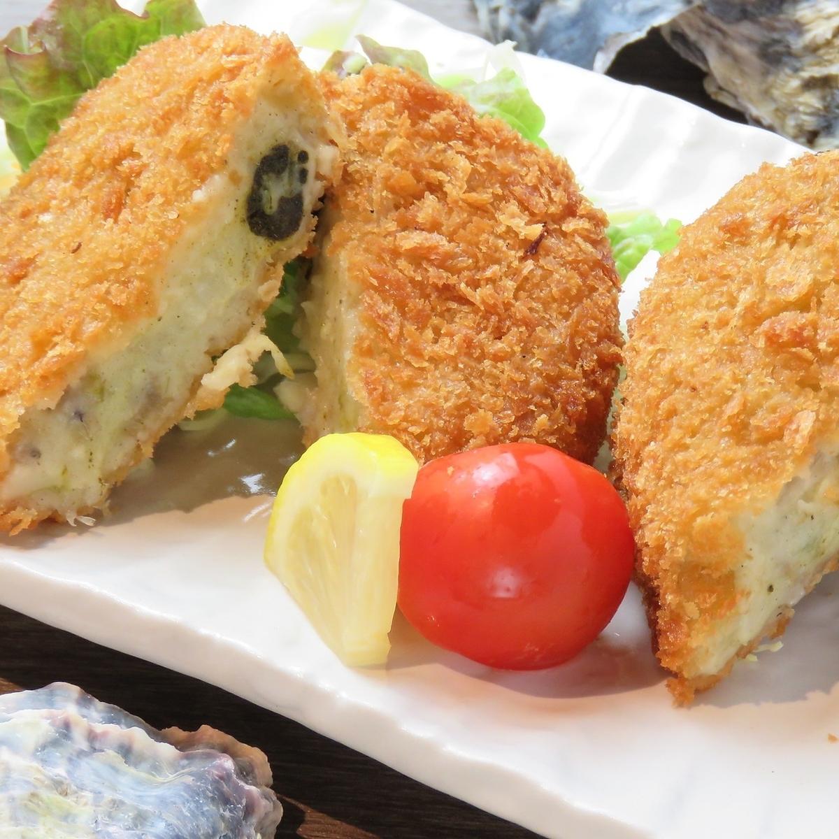 牡蠣のクリーミーコロッケ