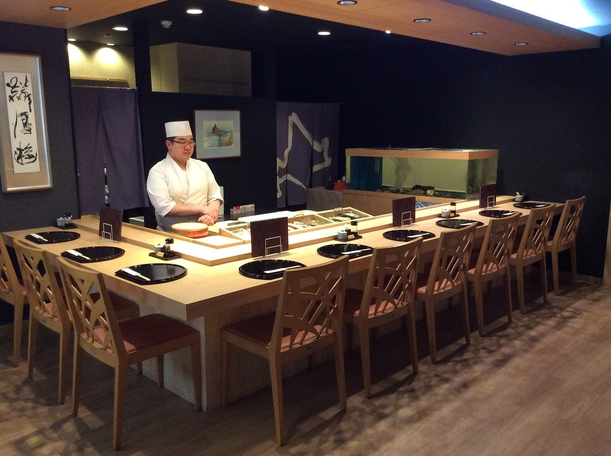 Adjacent Kitamae sushi seats (non-smoking seats) are also available!