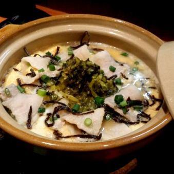 """Stress-relieving rice cook """"pig kana salt kelp rice cook"""""""