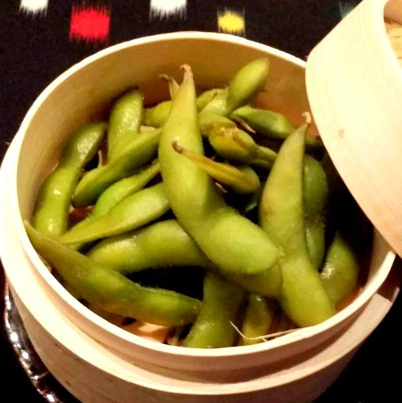 Shallow pickled soybean