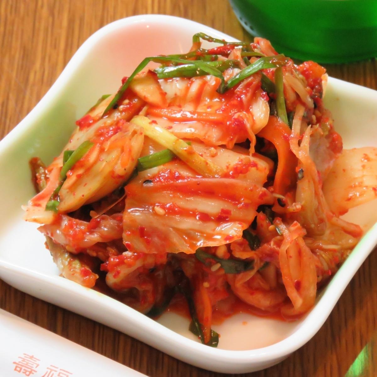 ミョンジュママの手作り白菜キムチ