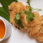 炒大蝦油炸鯛魚(S號)