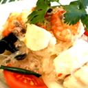 辣米和海鮮辣沙拉(S號)
