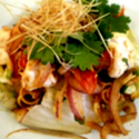 蝦和檸檬草辣沙拉(S號)