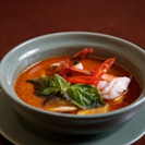 Red curry of pork