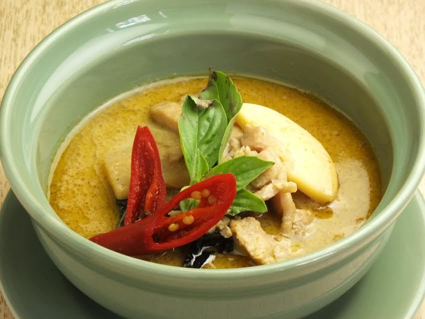 Seafood's green curry