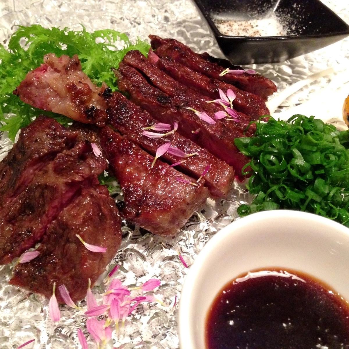 Grilled Saga beef