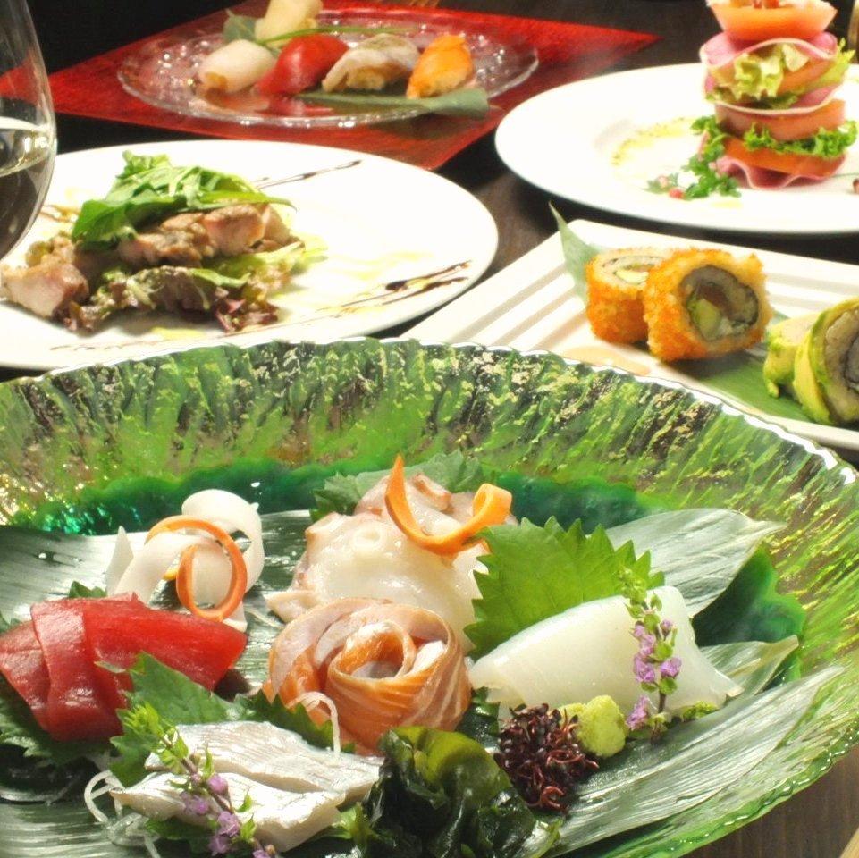 Mushroom of Sushi & Wine
