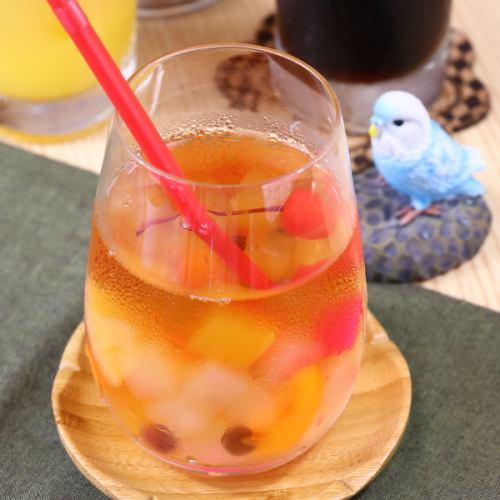 フルーツポンティー(アレンジ紅茶)