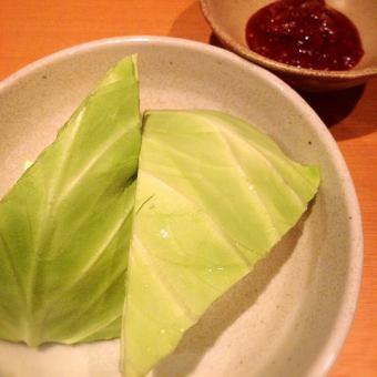 生キャベツ(味噌/塩だれ)