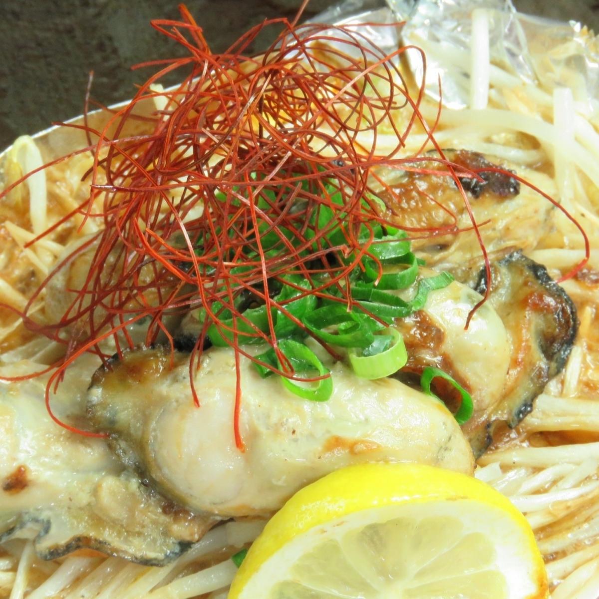 烤牡蛎黄油