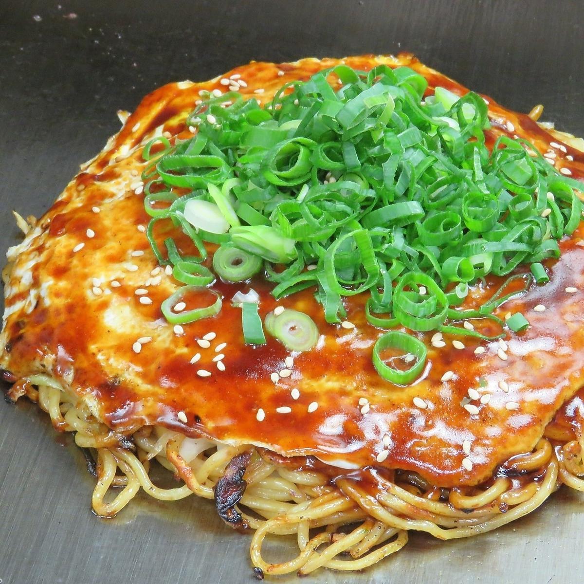 原味肉丸(荞麦面)