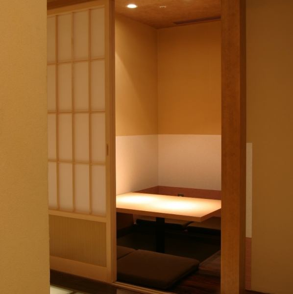 【Room number 1】 Completely private room with digging type available for 2 people.It is ideal for use in various scenes such as dinner party, date, girls' party.For popular seats, reservations are recommended as soon as possible.Please do not hesitate to tell us your preliminary content.