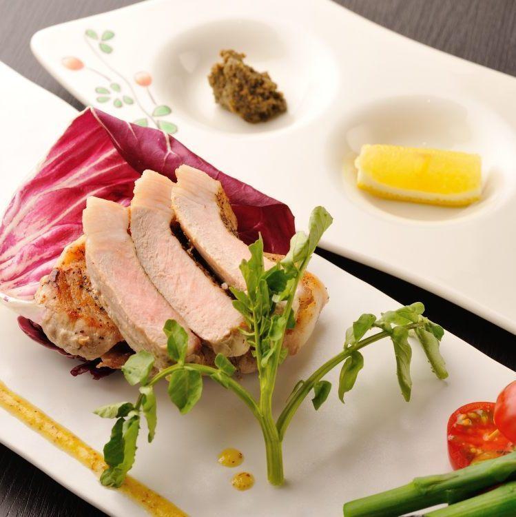 幻のおしか島豚オリジナルステーキ
