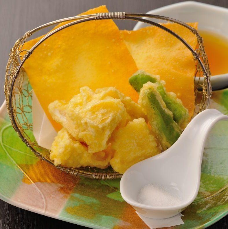 カマンベールチーズ天ぷら