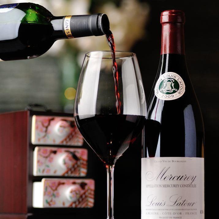 일본 요리에 맞는 정통 와인