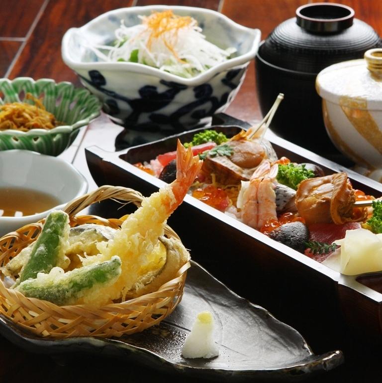 Fuwafuki Misen sauce with dessert · coffee