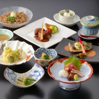 [3] 120 minutes Banquet seat with unlimited drinks 【5400 yen】 ~ Menu of Shimotsuki ~