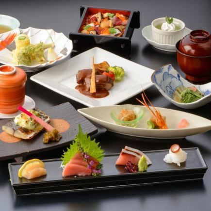 【Lunar New Year's party】 Party courses enjoying authentic Japanese cuisine 【4100 yen】 ~ Menu of Shimotsuki ~