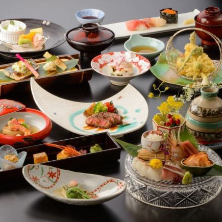 【Lunar New Year's party】 Party courses that enjoy orthodox Japanese food 【8300 yen】 ~ Menu of Shimotsuki ~