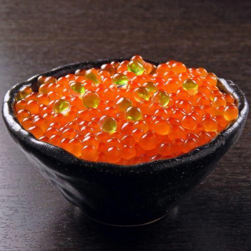 北海道産塩イクラ丼