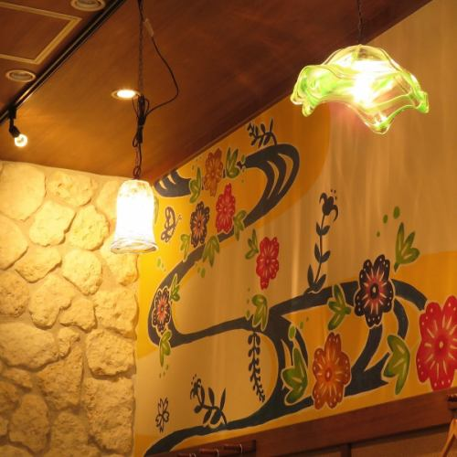 不僅是食物,還有室內裝飾的細節!