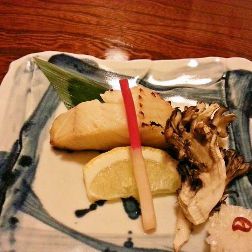 銀タラ西京焼