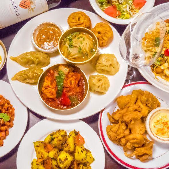 ネパールの美味い!!が詰まった各種コースALL飲み放題付2480円~♪