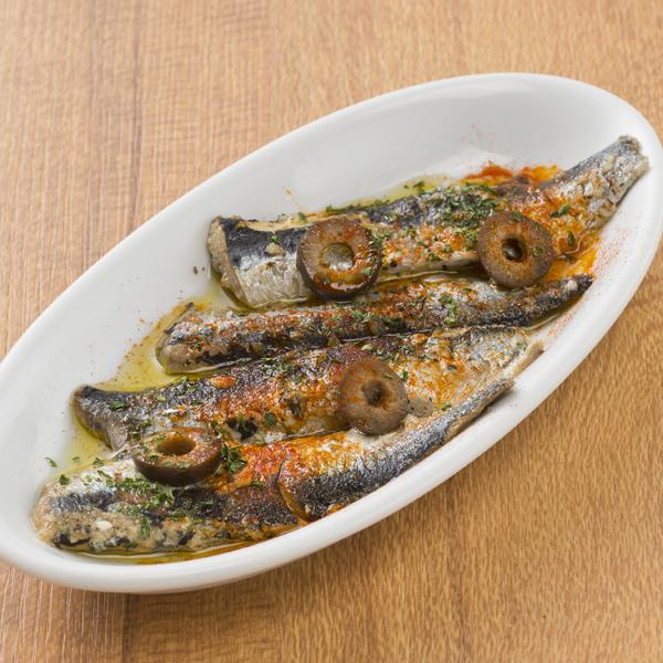 腌制沙丁鱼