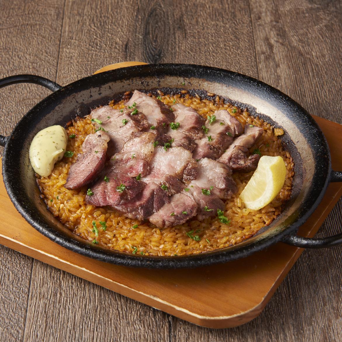 伊比利亚猪肉菜饭