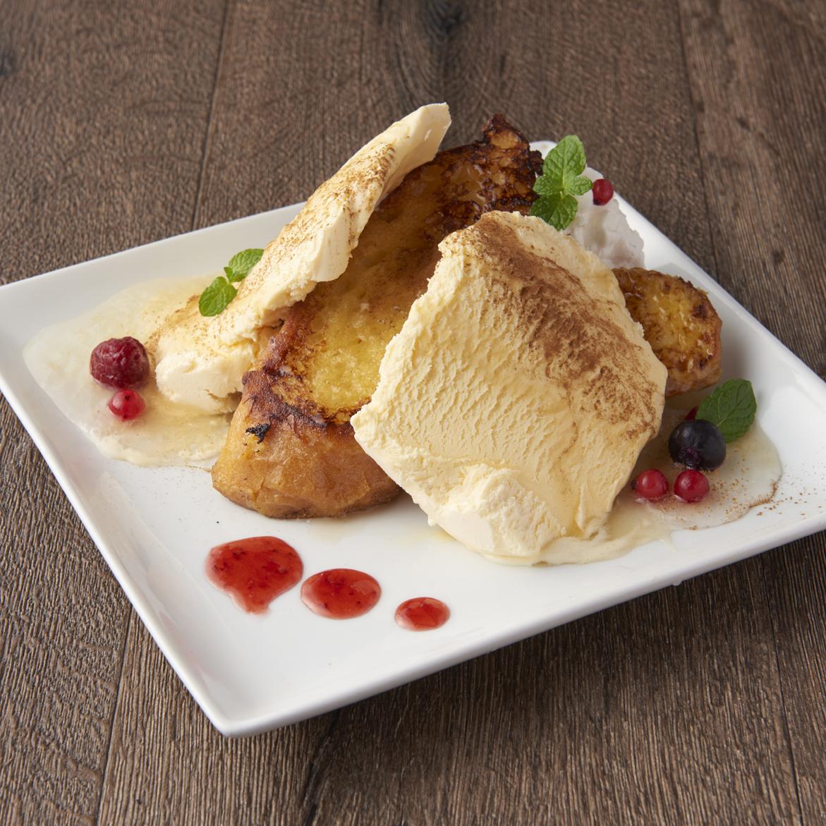 セニョリータフレンチトースト(メープルorチョコレート)