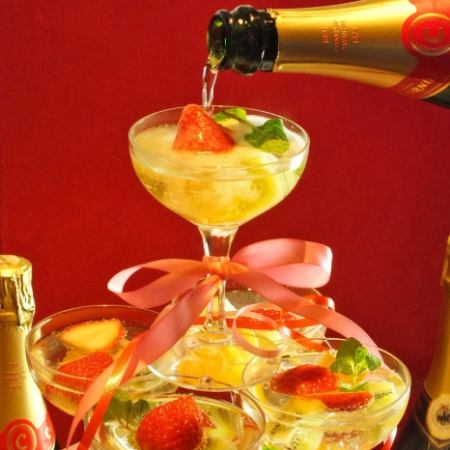 New Year's party · Party ♪ 【3 hour charter PARTY · Wedding second party plan】 ◆ 10 items 5000 yen ~