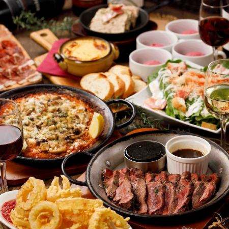 New Year party · Party ♪ Fun choice 【Paella Beef】 course 4500 yen (tax included)