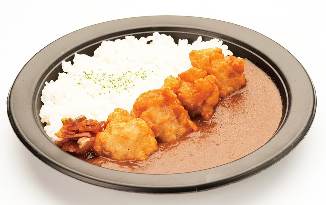 Deep-fried chicken fried curry