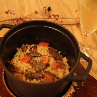 【NEW】 Porcini's Stove Risotto (2 ~ 3 servings)