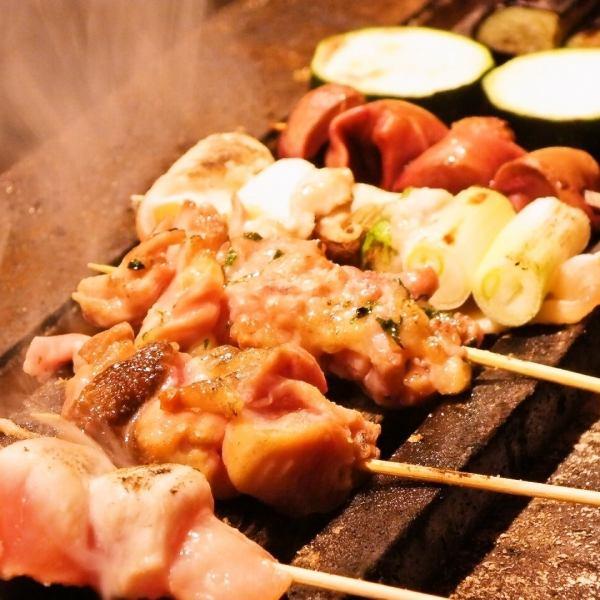 週六薩比長炭烤雞肉