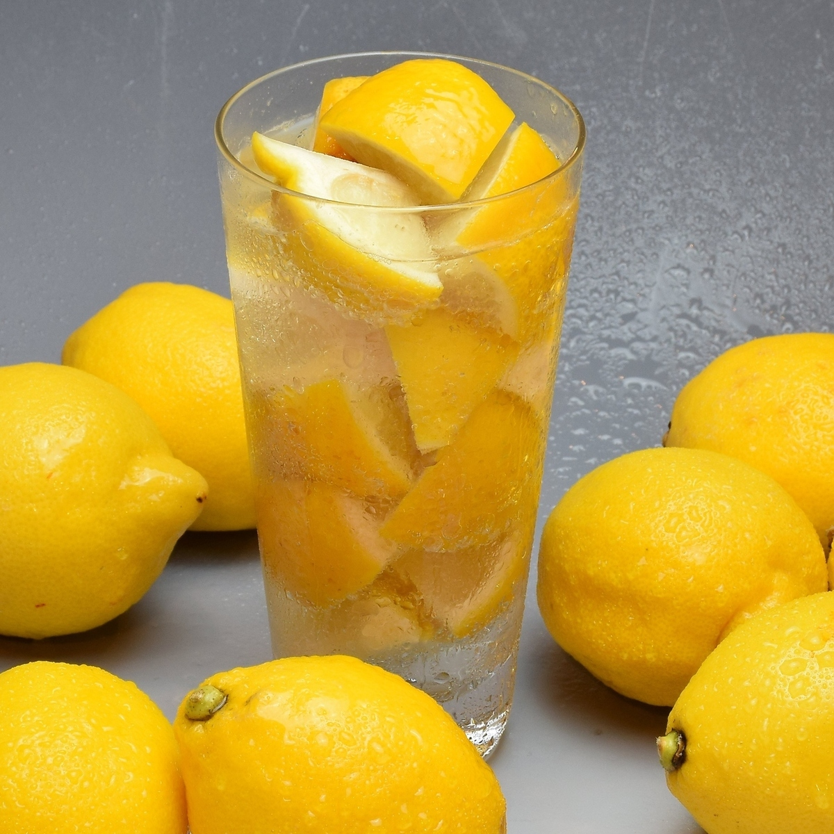동결 생 레몬 사워