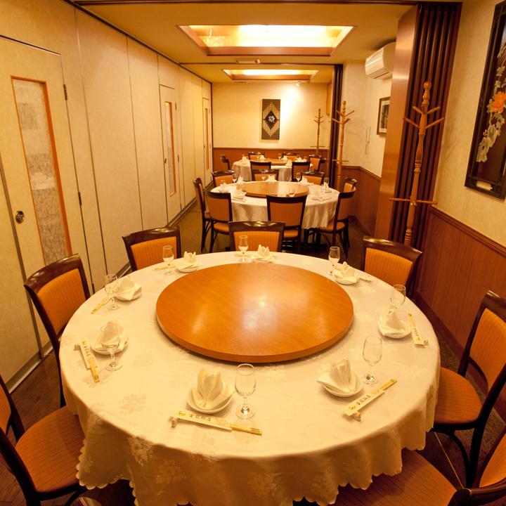 这是一个包含各种宴会的私人房间。