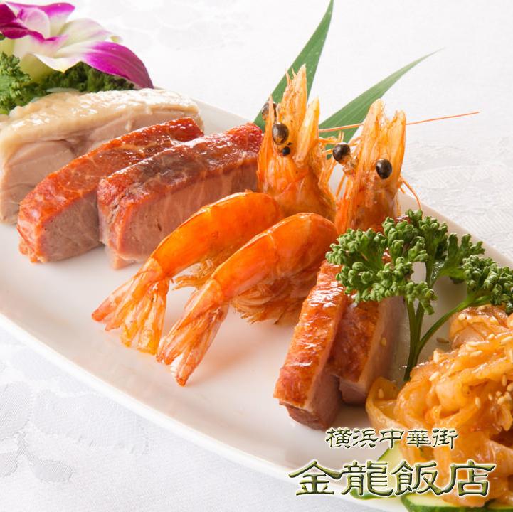 五種前菜盛り合わせ(※写真)/三種前菜盛り合わせ