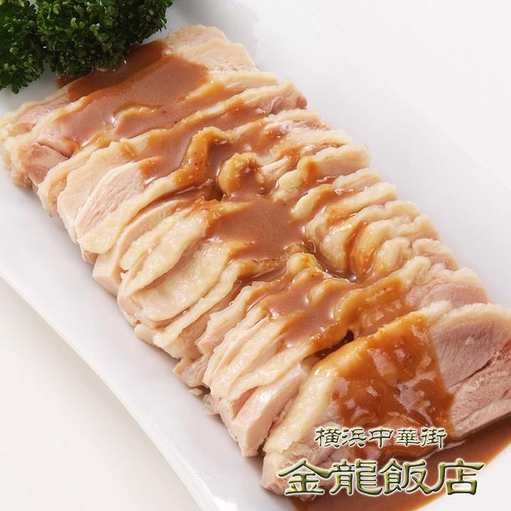 バンバンジー(※写真)/蒸し鶏の冷製