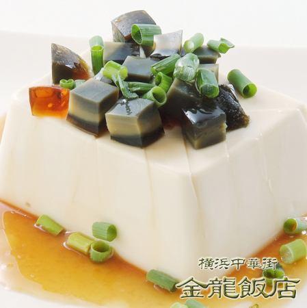 ピータン豆腐 (※写真) /キムチ