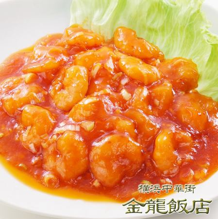 虾煮辣椒酱
