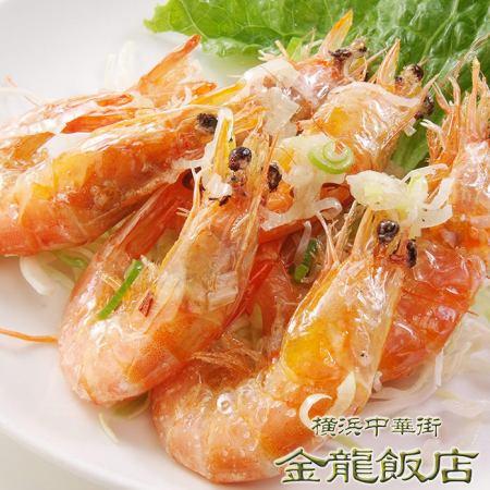 油炸的甜虾